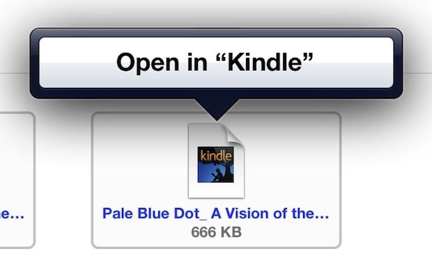 Trasferisci e apri mobi ebooks su iPad