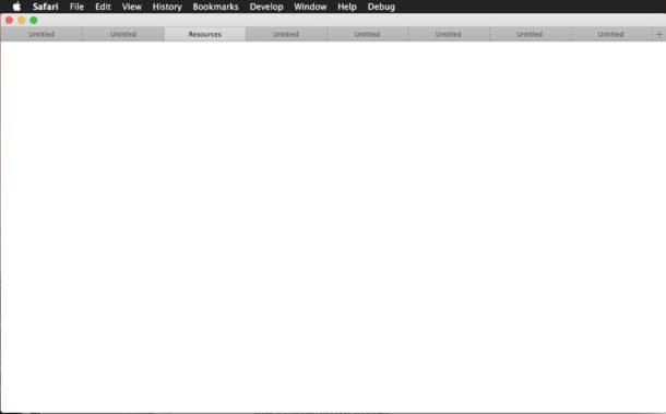 Safari perde la barra degli indirizzi in macOS Sierra