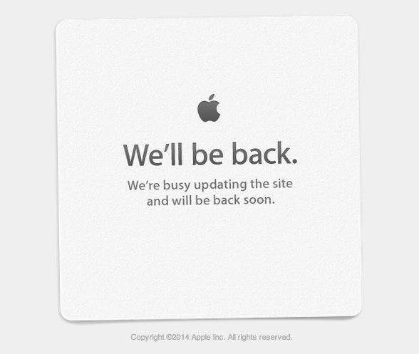 Sito Apple giù