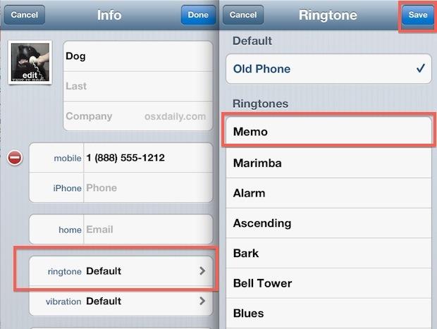 Assegna la registrazione vocale personalizzata come suoneria su iPhone