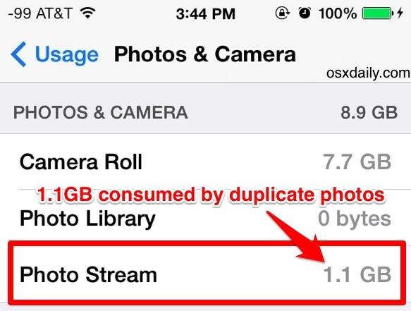 My Photo Stream funziona come previsto