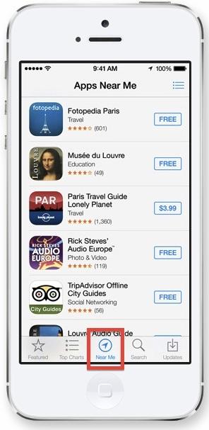 App Near Me in iOS App Store