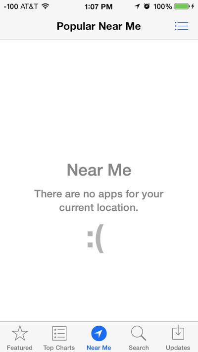App Near Me in App Store