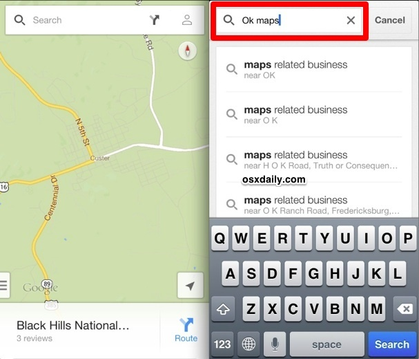 Salva Google Maps per l'utilizzo offline