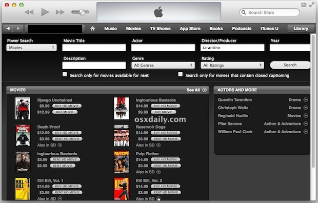 Power Search Movies su iTunes