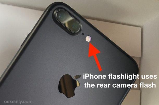 Torcia iPhone utilizza flash fotocamera LED