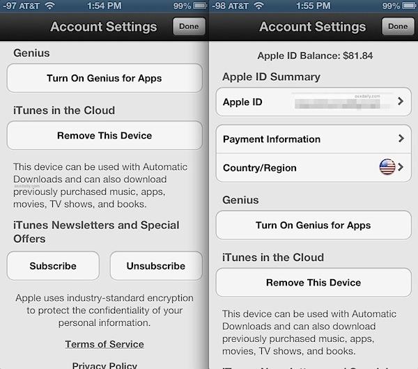 Elementi dell'interfaccia utente in bianco e nero iOS