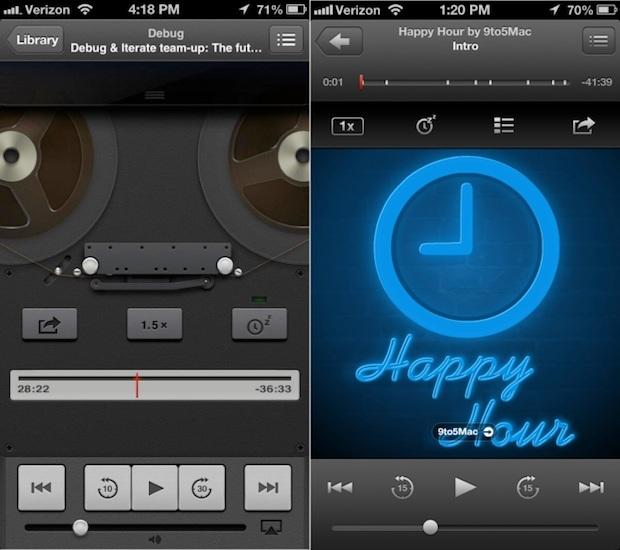 L'app Podcast offre un'altra anteprima di iOS 7
