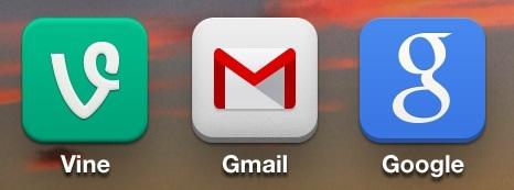 Icone iOS più piatte