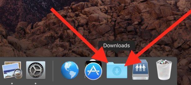 I file AirDrop vanno nella cartella Download su Mac