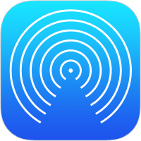 Icona AirDrop in iOS