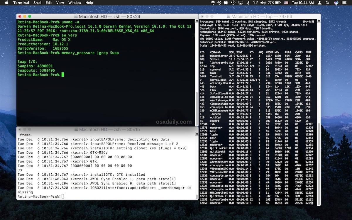 Usa Window Snapping su Mac OS