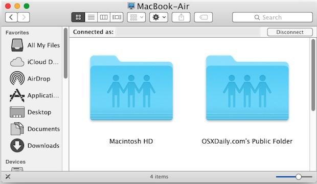 Connected Mac con successo
