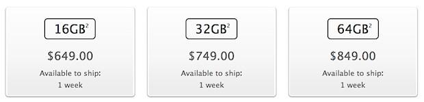 I prezzi sbloccati per iPhone 5 partono da $ 649