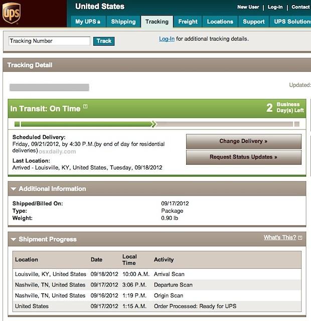 Numero di tracking e informazioni su pre-ordine iPhone 5